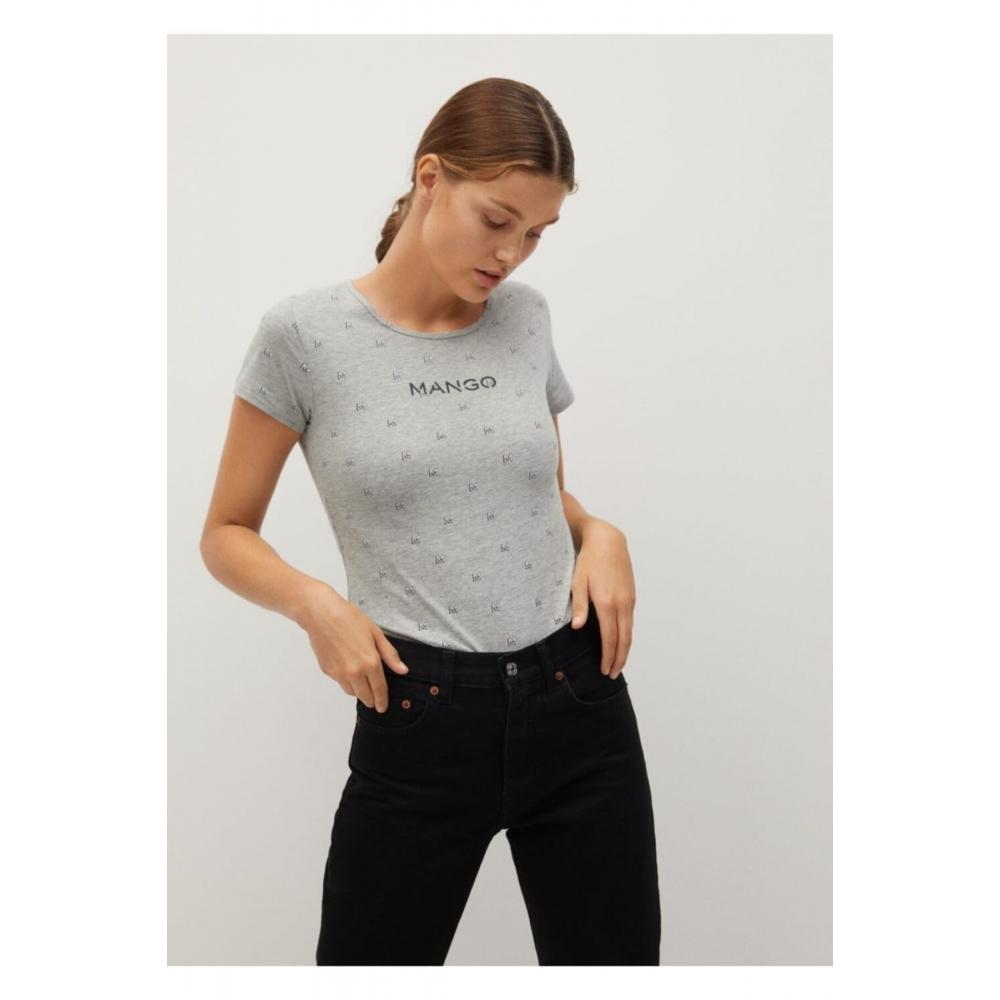Женская футболка Mango с коротким рукавом