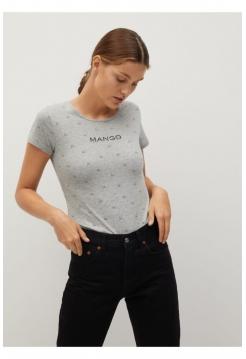 Mango T shirt yumru yaxalı xanımlar üçün