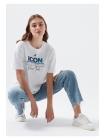 Женская футболка тенниска Mavi белого цвета
