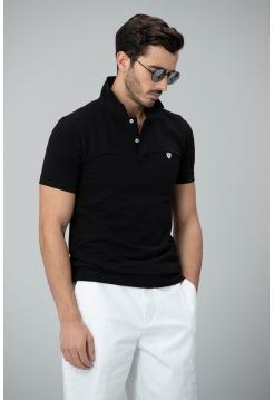 Мужская футболка Lufian черного цвета
