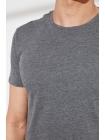 Oğlan üçün T-shirt futbolka boz rəngli