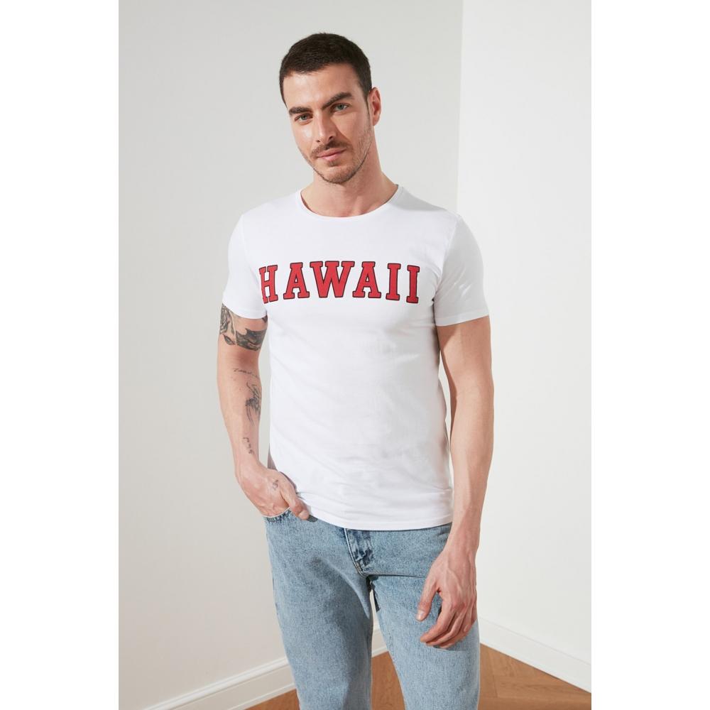T-shirt futbolka kişilər üçün Hawaii şəkilli