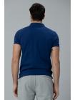 Мужская футболка Lufian темно-синего цвета