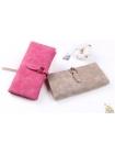 Женский розовый бумажник