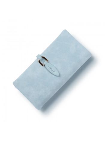 Женское голубое портмоне
