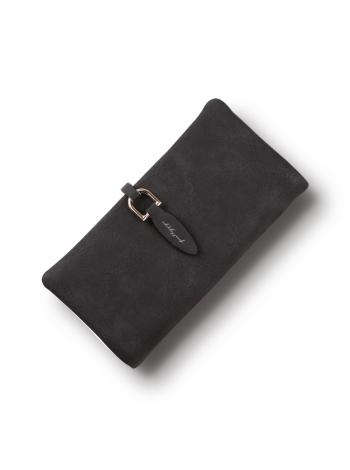 Женский черный бумажник