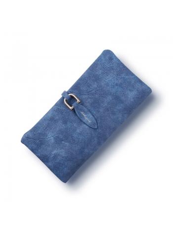 Женский длинный бумажник клатч
