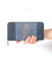 Женский бумажник на молнии