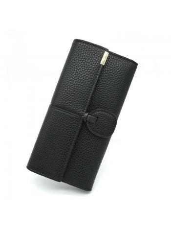 Женский бумажник черного цвета