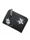 Черный кошелек для девушки