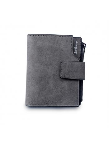 Женское портмоне темно серого цвета