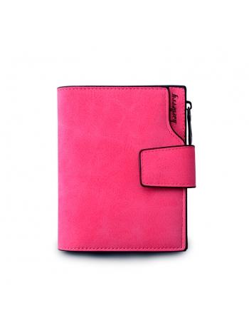 Женский красный кошелек маленького размера