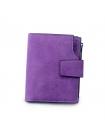 Фиолетовый женский бумажник