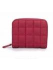 Женский красный бумажник в сетку