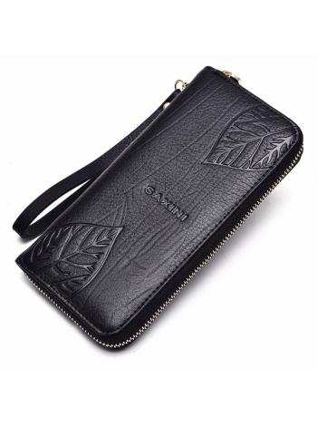Женский бумажник из натуральной кожи