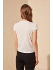 Женская блузка с кружевами на рукавах Trendyolmilla