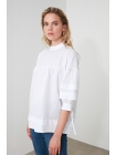 Женская блузка Trendyolmilla с застежками сзади и на рукавах
