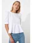Женская блузка с короткими рукавами Trendyolmilla