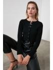 Блузка Trendyolmilla на пуговицах с длинным рукавом