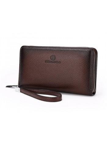 Мужской бумажник с замком