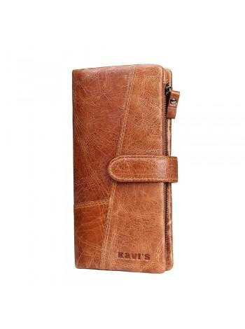 Длинный бумажник для мужчины