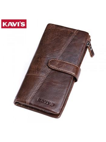 Мужской длинный бумажник
