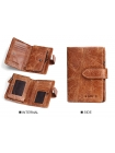 Вертикальный бумажник для мужчины