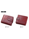 Мужской бумажник красный