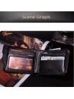 Черный мужской бумажник